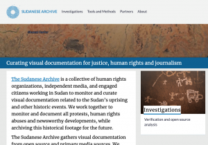 Sudanese Archive site