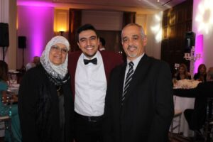 marwan and his parents