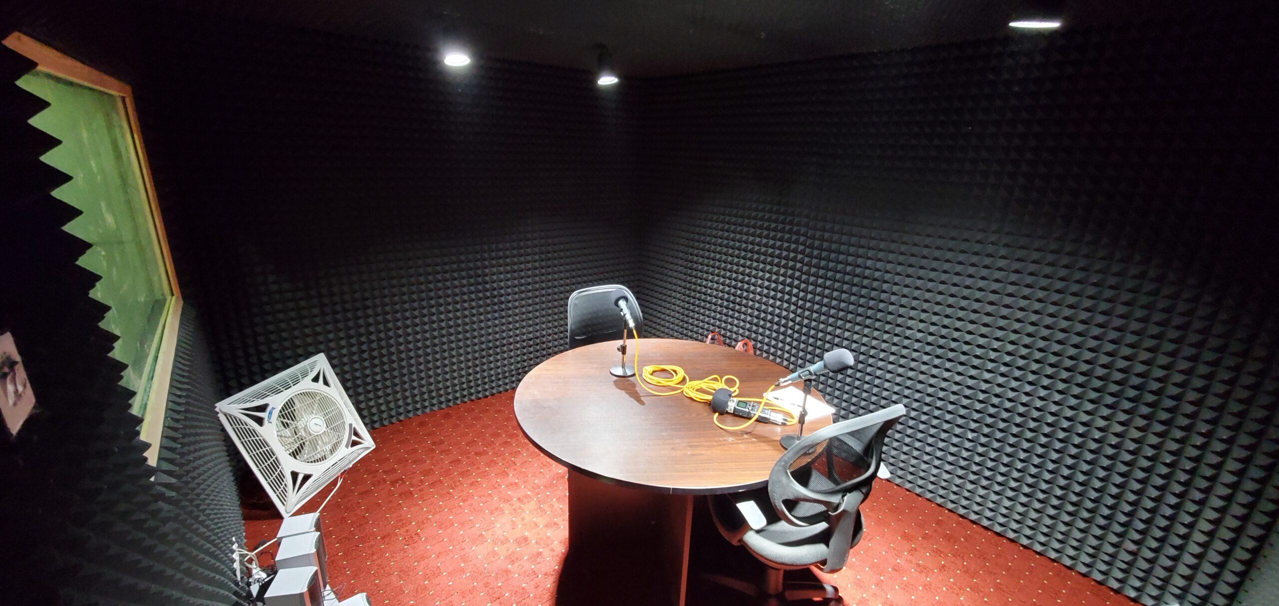 YODET Enab podcast studio